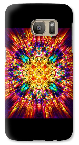 Galaxy Case featuring the painting Om Mani Padme Hum by Jalai Lama