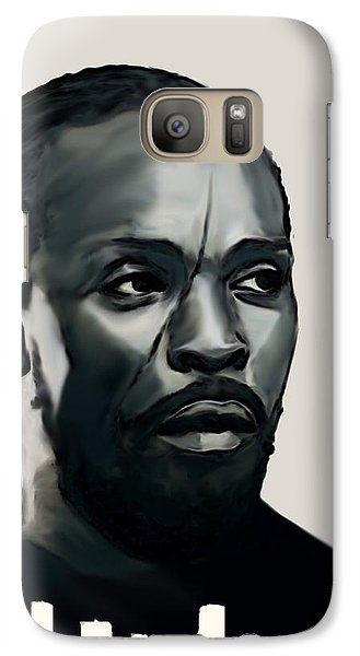 Galaxy Case featuring the painting Omar Little by Jeff DOttavio