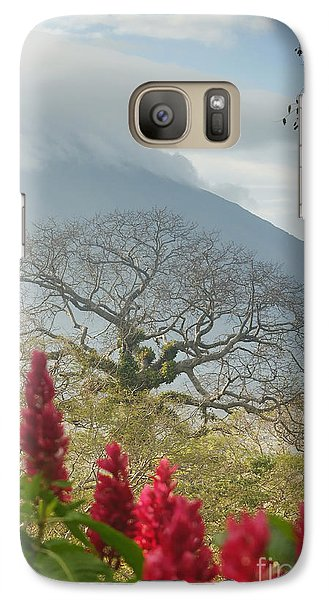 Galaxy Case featuring the photograph Ometepe Island 1 by Rudi Prott
