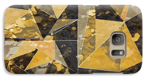 Omg Modern Triangles II Galaxy S7 Case by south Social Studio