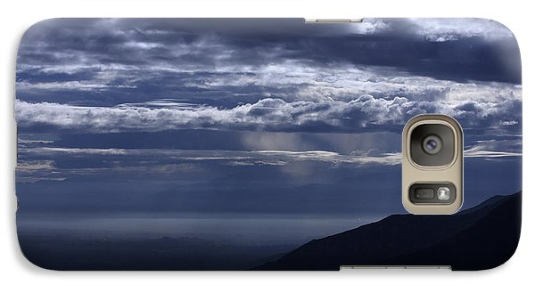 Galaxy Case featuring the photograph Ominous Skies by Richard Stephen