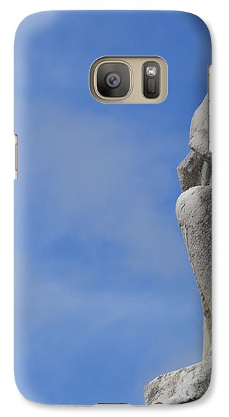 Galaxy Case featuring the photograph On Bended Knee - Color by Nadalyn Larsen