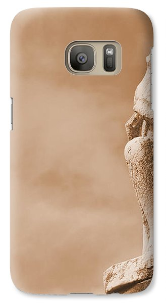 Galaxy Case featuring the photograph On Bended Knee by Nadalyn Larsen