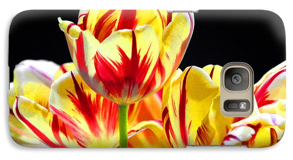 Galaxy Case featuring the photograph On Fire by Brian Davis