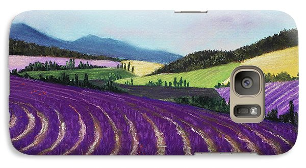 On Lavender Trail Galaxy S7 Case