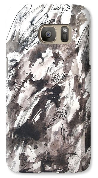 Galaxy Case featuring the painting On Mount Sinai by Esther Newman-Cohen