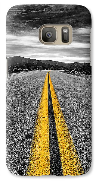 Galaxy Case featuring the photograph On Our Way To by Ryan Weddle