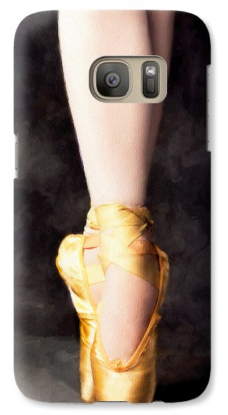 Galaxy Case featuring the photograph On Point by David Perry Lawrence