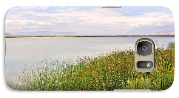 Galaxy Case featuring the photograph On Shore by Marilyn Diaz