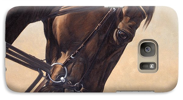 Galaxy Case featuring the painting On The Diagonal by JQ Licensing