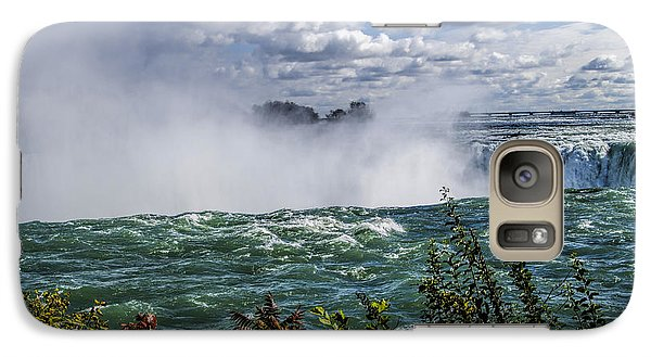 Galaxy Case featuring the photograph On The Edge by JRP Photography