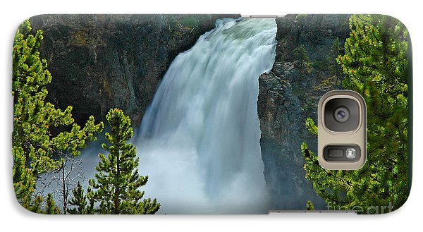 Galaxy Case featuring the photograph On The Edge by Nick  Boren