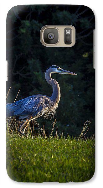 Egret Galaxy S7 Case - On The March by Marvin Spates