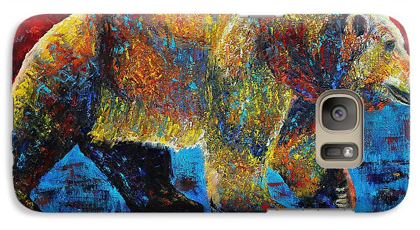 Galaxy Case featuring the painting On The Move by Jennifer Godshalk