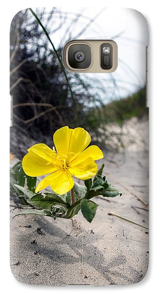 Galaxy Case featuring the photograph On The Path by Sennie Pierson