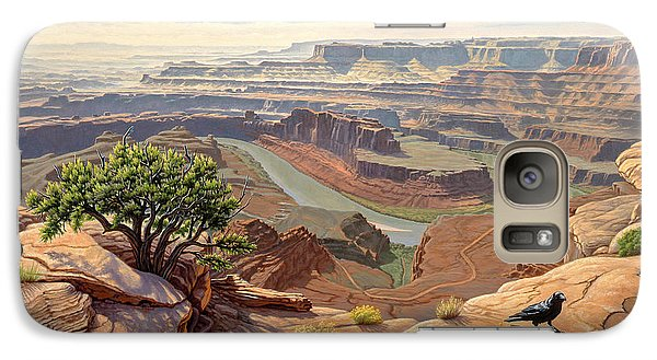 Raven Galaxy S7 Case - On The Rim-dead Horse Point by Paul Krapf