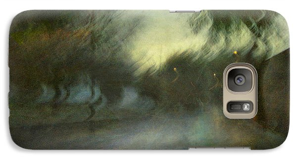 Galaxy Case featuring the photograph On The Road #12. Xynthia's Trail by Alfredo Gonzalez