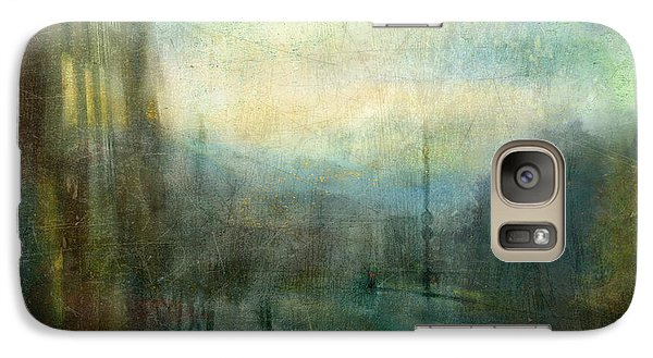 Galaxy Case featuring the photograph On The Road #16. Downhill Blues by Alfredo Gonzalez