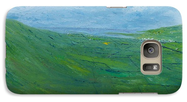 Galaxy Case featuring the painting On The Road To Dingle   Original Sold by Conor Murphy