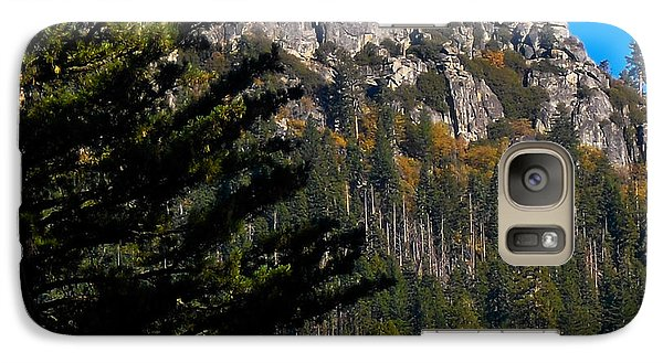 Galaxy Case featuring the photograph On The Rocks by Kristen R Kennedy
