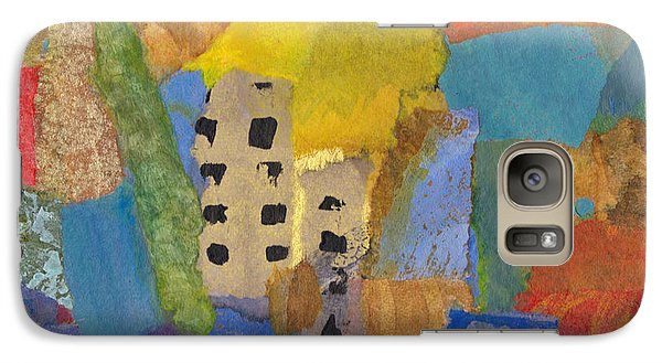 Galaxy Case featuring the mixed media On The Strand by Catherine Redmayne