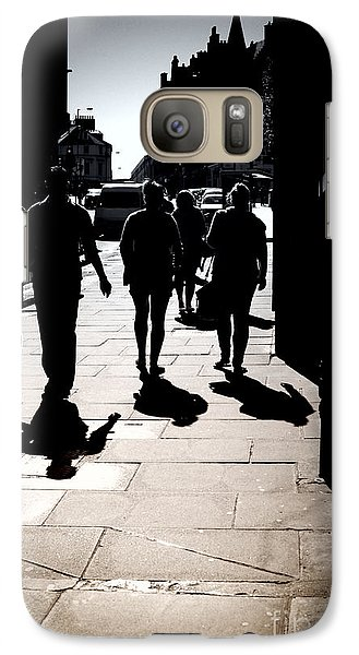 Galaxy Case featuring the photograph On The Street by Craig B