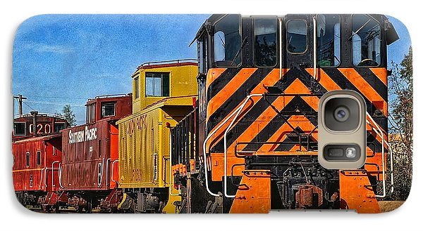 On The Tracks Galaxy S7 Case by Peggy Hughes