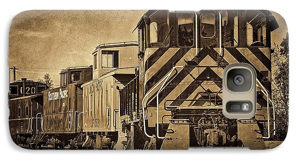 On The Tracks... Take Two. Galaxy S7 Case by Peggy Hughes