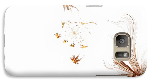 Galaxy Case featuring the digital art On The Wind by GJ Blackman