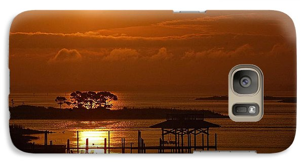 Galaxy Case featuring the digital art On Top Of Tacky Jacks Sunrise by Michael Thomas