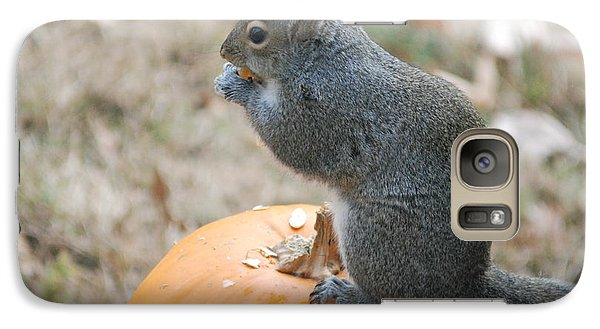 Galaxy Case featuring the photograph On Top Of The Pumpkin by Mark McReynolds