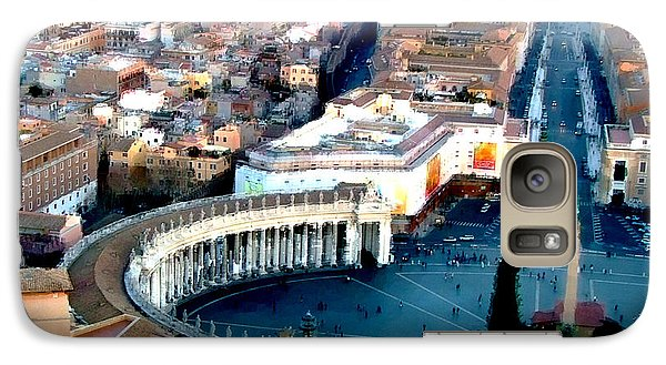 Galaxy Case featuring the digital art On Top Of Vatican 1 by Brian Reaves