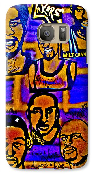 Once A Laker... Galaxy S7 Case by Tony B Conscious
