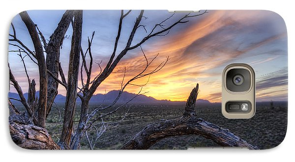 Galaxy Case featuring the photograph Once Mesquite by Anthony Citro