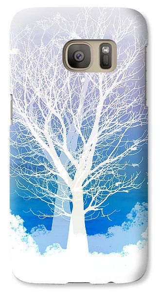 Landscape Galaxy S7 Case - Once Upon A Moon Lit Night... by Holly Kempe