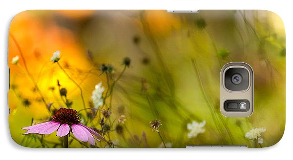 Galaxy Case featuring the photograph Once Upon A Time There Lived A Flower by Mary Amerman