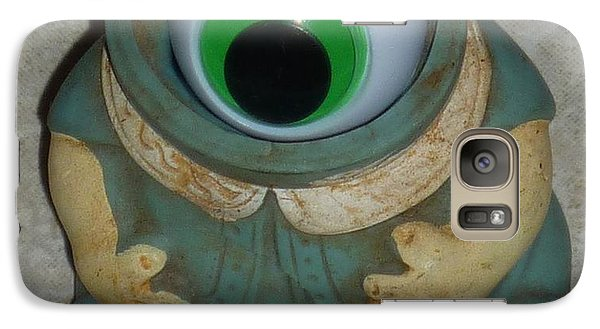 Galaxy Case featuring the sculpture One Eyed Doll by Douglas Fromm