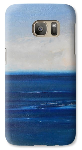 Galaxy Case featuring the painting One Fine Day by Jane  See