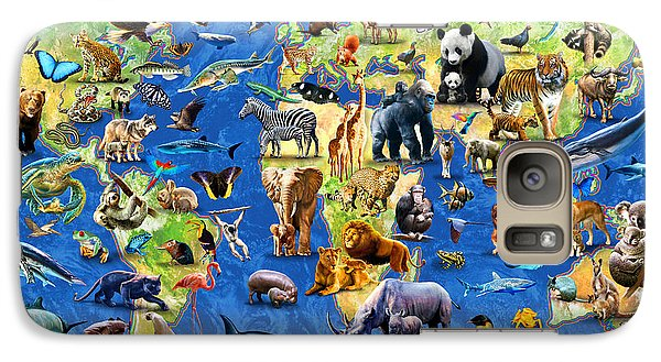 Koala Galaxy S7 Case - One Hundred Endangered Species by Adrian Chesterman