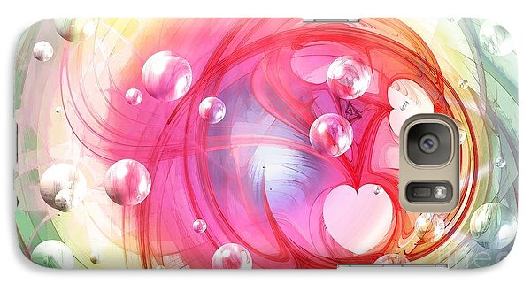 One Love... One Heart... One Life Galaxy S7 Case by Peggy Hughes