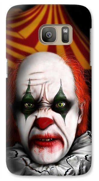 Galaxy Case featuring the digital art One Night Only by Jeremy Martinson