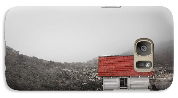 Galaxy Case featuring the photograph One Room In A Fog by Ellen Cotton
