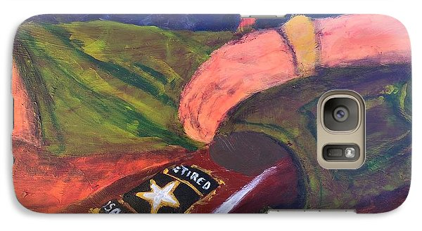 Galaxy Case featuring the painting One Team Two Heroes - 2 by Donald J Ryker III