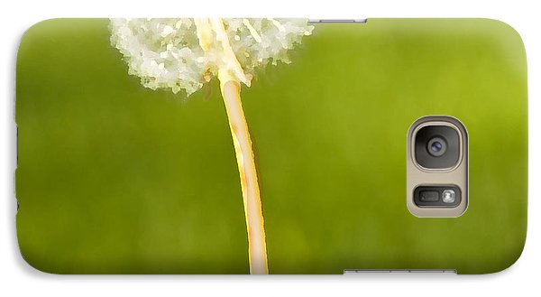 Galaxy Case featuring the digital art One Wish  by Artist and Photographer Laura Wrede