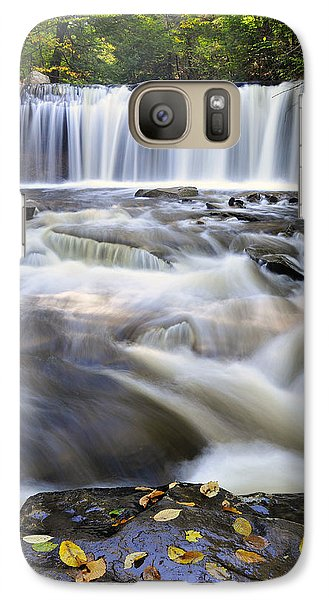 Galaxy Case featuring the photograph Oneida Falls  by Dan Myers