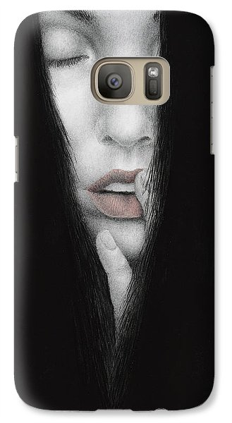 Galaxy Case featuring the painting Onus Memoriae by Pat Erickson
