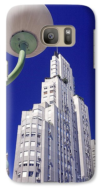 Galaxy Case featuring the photograph Onyric City by Bernardo Galmarini