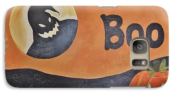 Galaxy Case featuring the painting Oogie Boogie Boo by Cindy Micklos