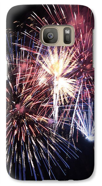 Galaxy Case featuring the photograph Oohs And Aahs by Harold Rau