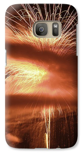Galaxy Case featuring the photograph Oooo Ahhhh by Michael Nowotny